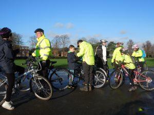 Happy Winter Cyclists