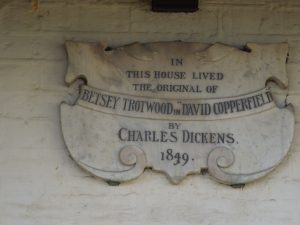 Dicken's House - Betsey Trottwood