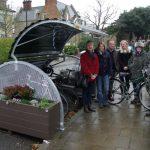 Bike Hangar in Tudor Rd Anerley