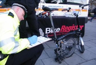 Met Police - Bike Marking @ Bromley   United Kingdom