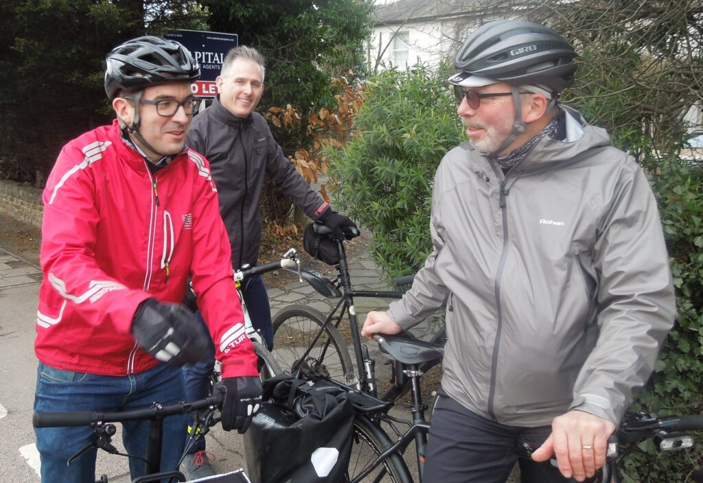 Will Norman and Bromley Cyclists